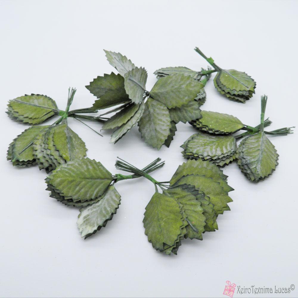 διακοσμητικά πράσινα φύλλα