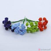 Υφασμάτινα - γύψινα λουλούδια