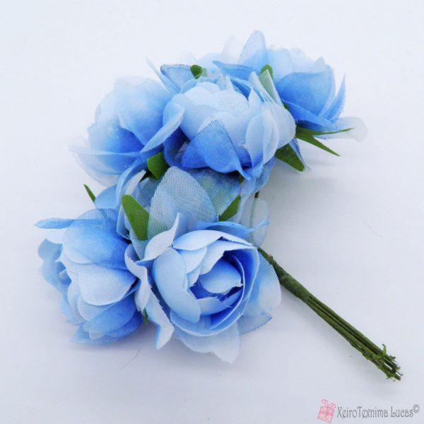Σιέλ υφασμάτινα λουλούδια