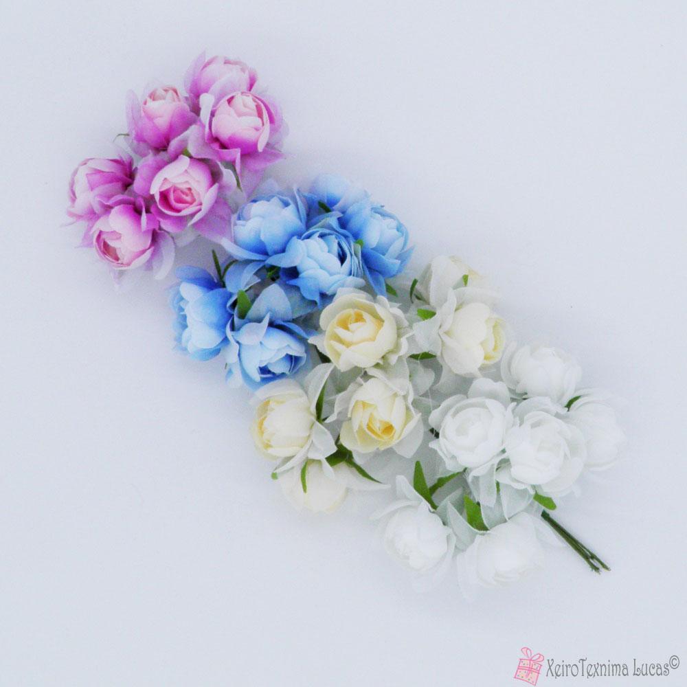 υφασμάτινα λουλούδια