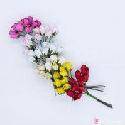 Χάρτινα διακοσμητικά λουλούδια