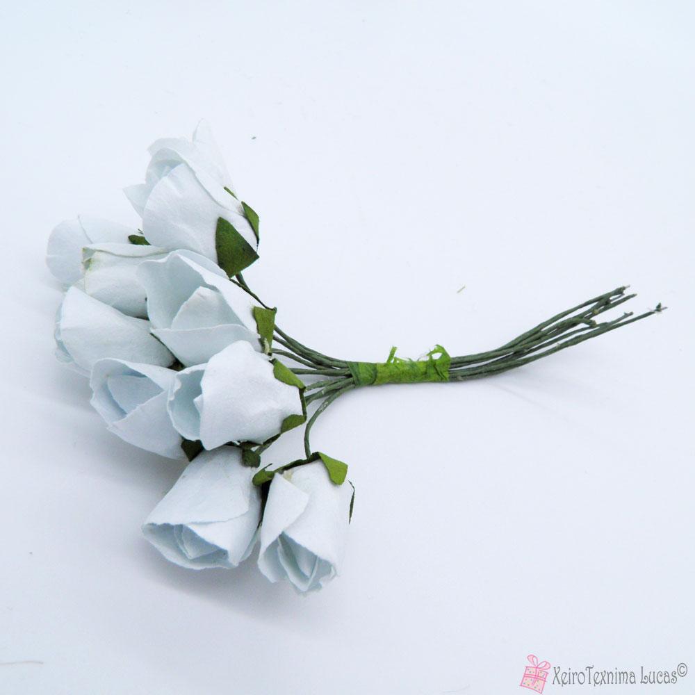 Λευκά διακοσμητικά λουλούδια