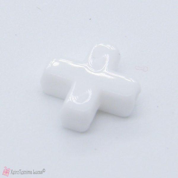 Λευκά ακρυλικά σταυρουδάκια