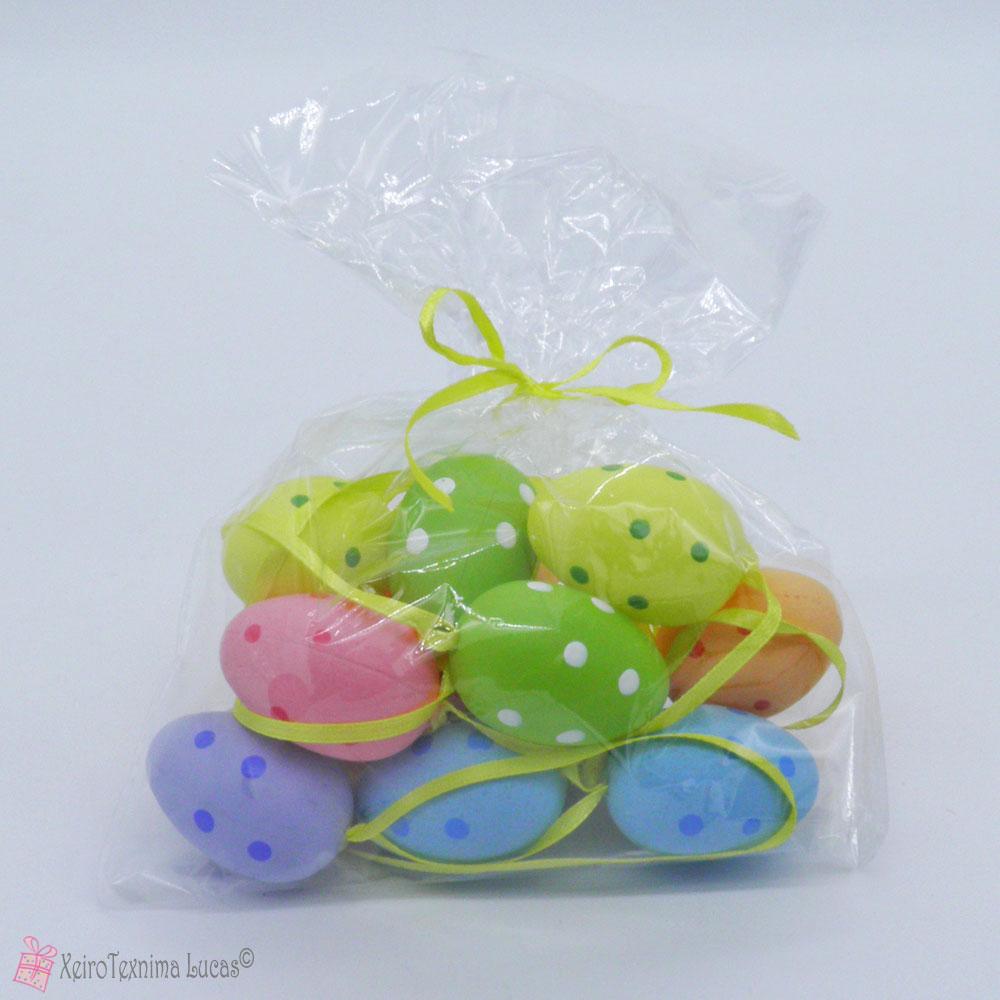 Πασχαλινά αυγά σε διάφορα χρώματα