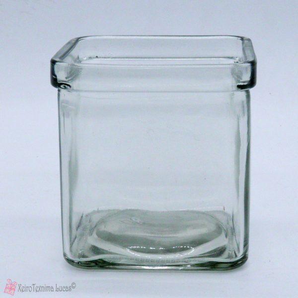 Μικρή τετράγωνη γυάλα