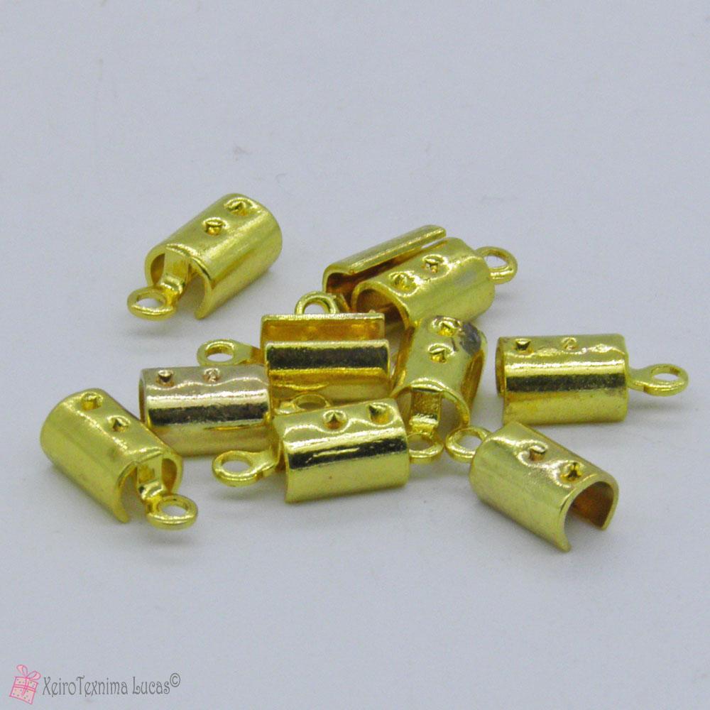 Χρυσά μεταλλικά σφυχτηράκια
