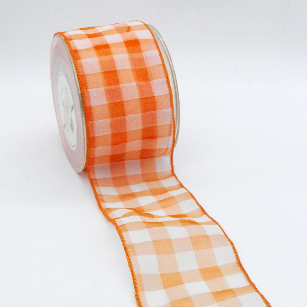 Πορτοκαλί οργάντζα κορδέλα
