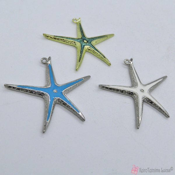 μεταλλικοί αστερίες με σμάλτο