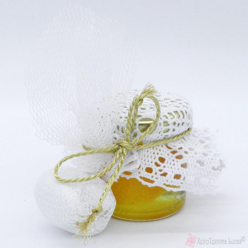 μπομπονιέρα γάμου με γλυκό του κουταλιού