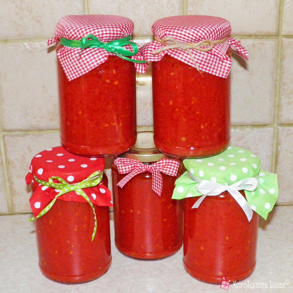 Φτιάχνω μόνος μου σάλτσα ντομάτας