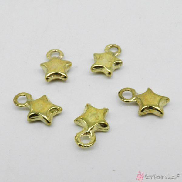 Χρυσά μεταλλικά αστεράκια