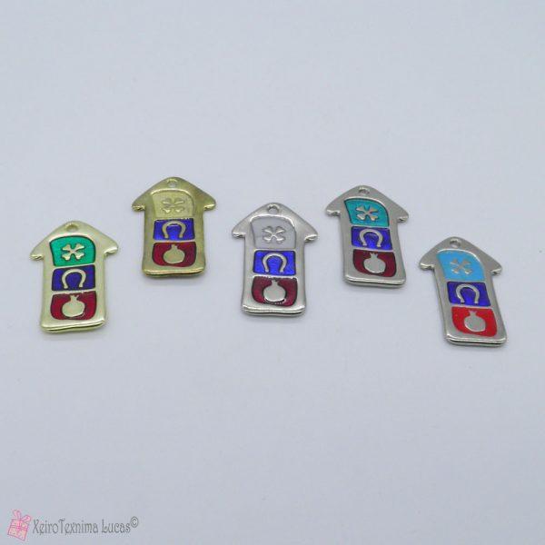 Μεταλλικά σπίτια με σμάλτο σε διάφορα χρώματα