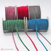 Στενή βελούδινη κορδέλα σε πολλά χρώματα