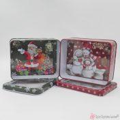 χριστουγεννιάτικα μεταλλικά κουτιά