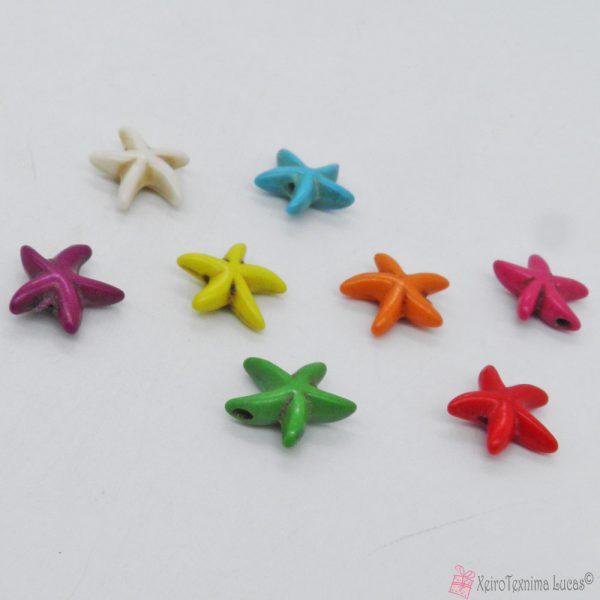 αστερίας από χαολίτη πάστα σε πολλά χρώματα