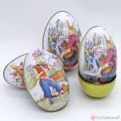 Αυγά κουτιά μεταλλικά