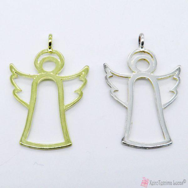 Μεταλλικός χυτός άγγελος