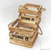 Τετράγωνα ξύλινα καφάσια Home