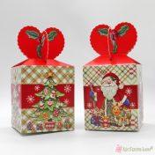 Πτυσσόμενα Χριστουγεννιάτικα κουτιά