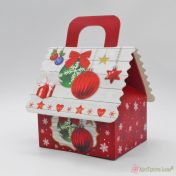 Χριστουγεννιάτικο κουτί σπιτάκι