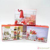 Χάρτινα χριστουγεννιάτικα κουτιά