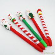 Στυλό με χριστουγεννιάτικες παραστάσεις